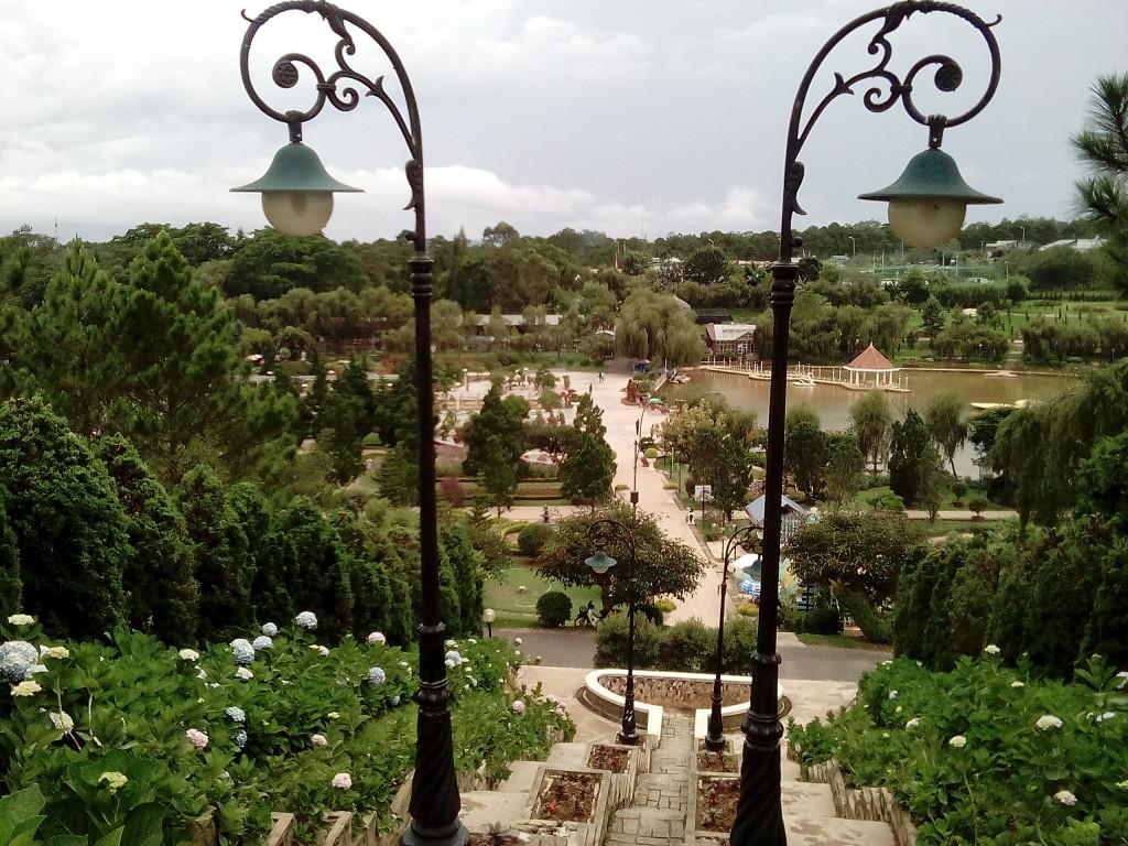 1. Цветочные сады Далата