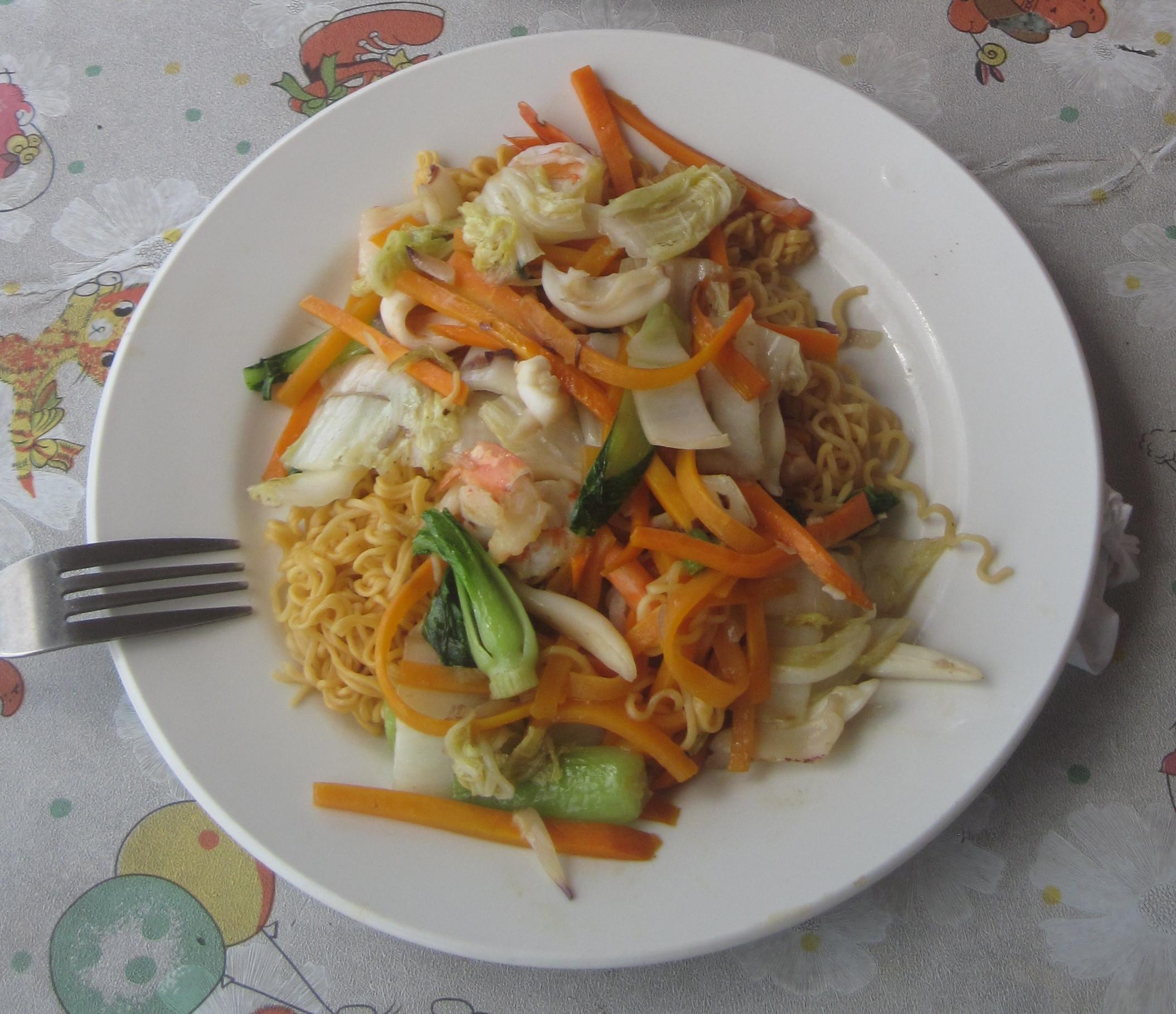 Еда в Муйне