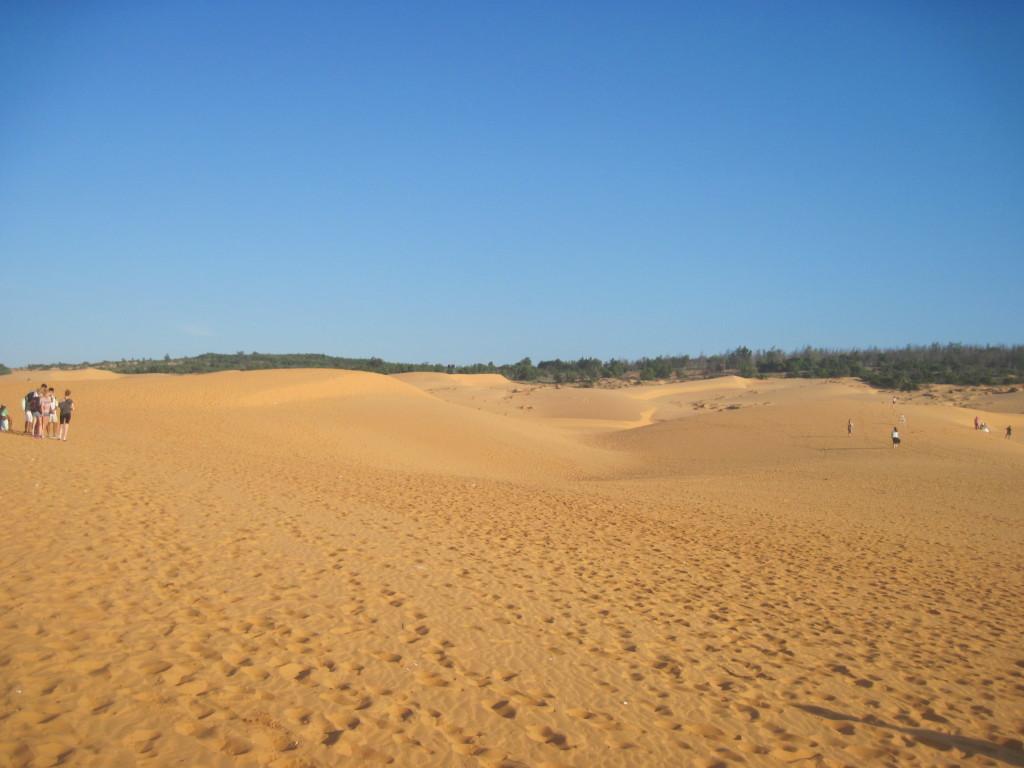 Красные дюны Муйне
