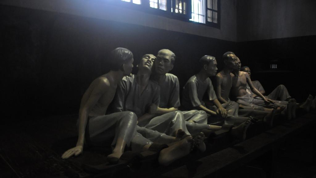 Hoa Lo Prison or Hanoi Hilton