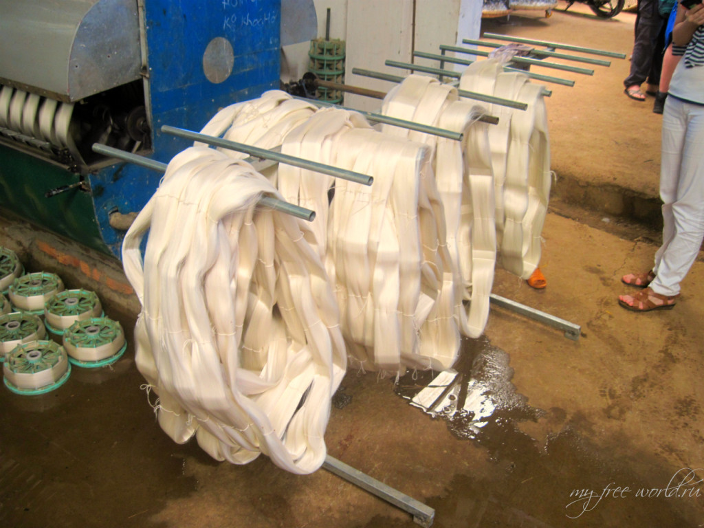 Шелковая фабрика Далат