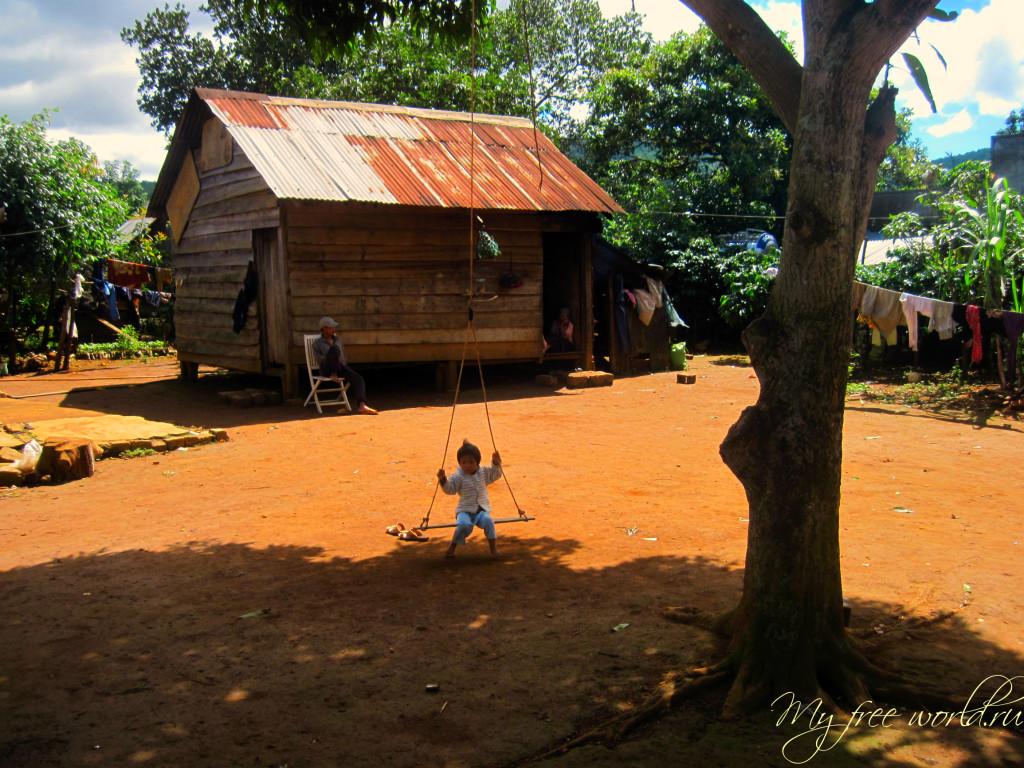 Этно деревня в Далате