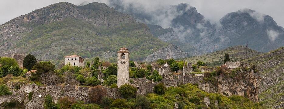 Старый Бар Черногория