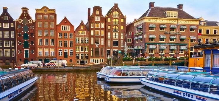 Праздники в мае едем в амстердам