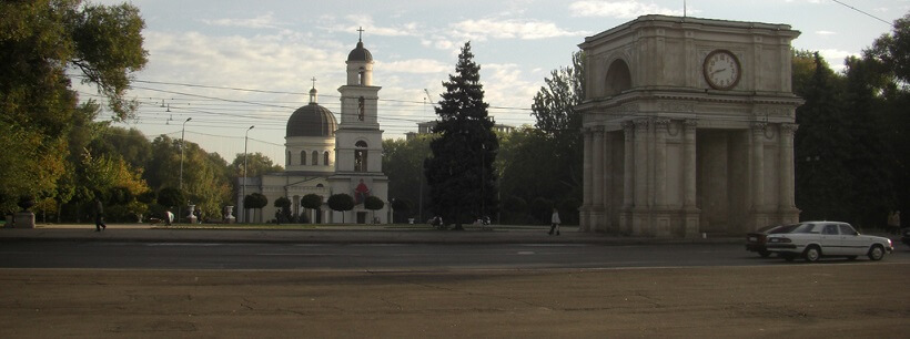 Майские праздники в Кишинёве