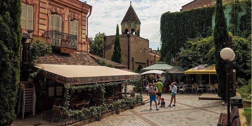 Первомай в Тбилиси