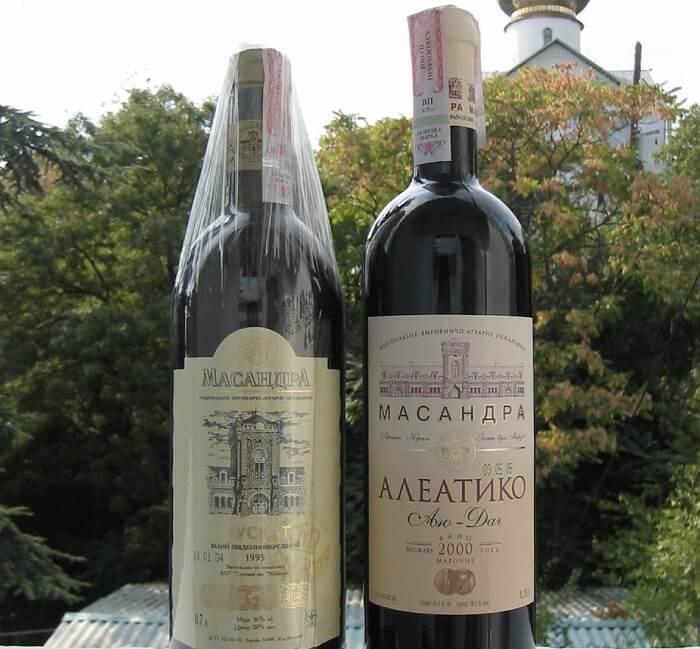 Цены на алкогольную продукцию в Крыму
