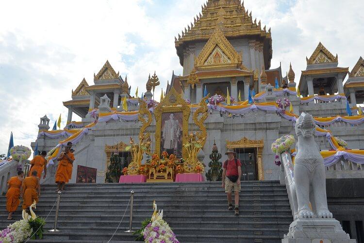 Храм Золотого Будды (Wat Trai Mit) и Китайский квартал