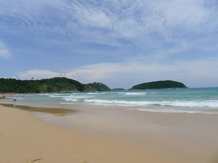 Фото пляжей Пхукета – пляж Наи Харн