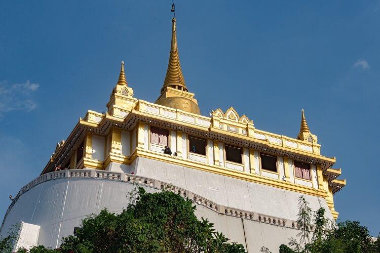 Храм Золотой горы (Wat Saket)