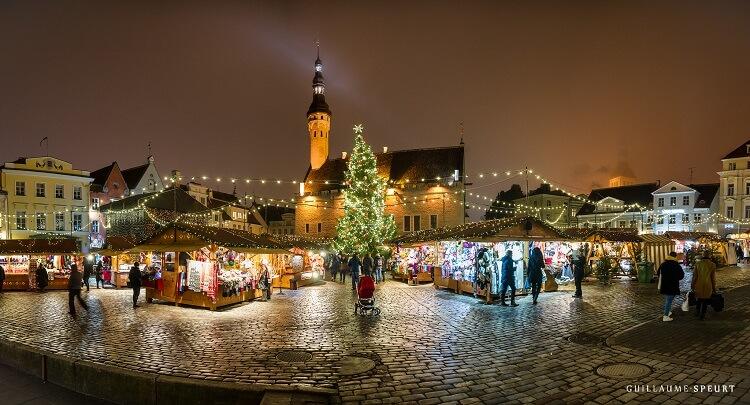 Новый год Таллин