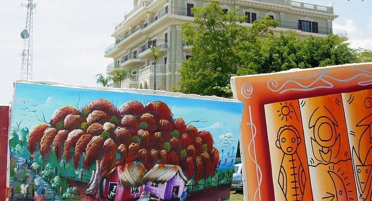 Картины доминиканских художников