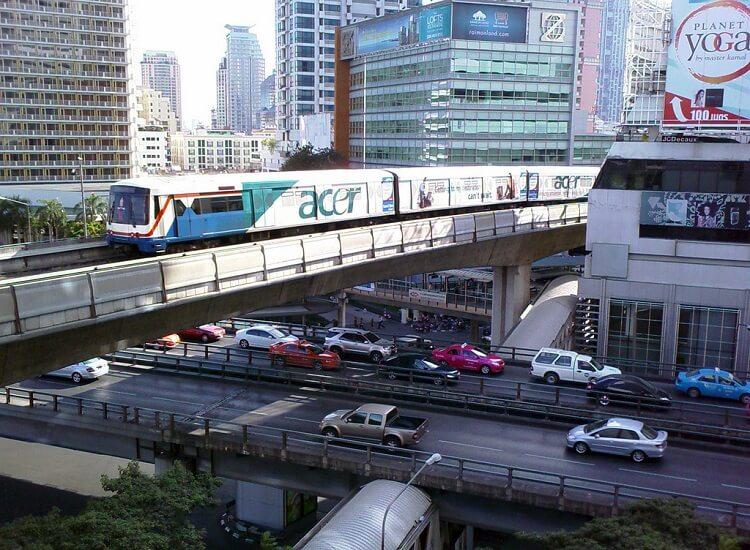 Цены на метро в БАнгкоке