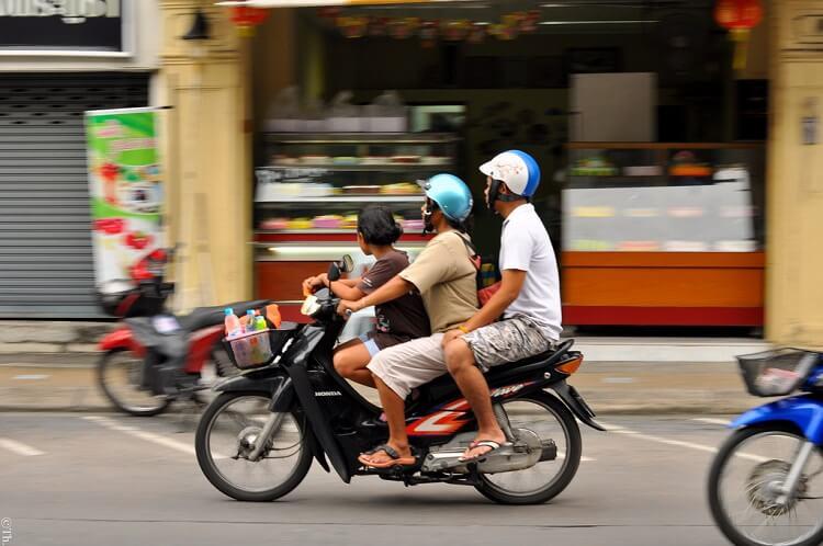 Арента мотобайков Таиланд