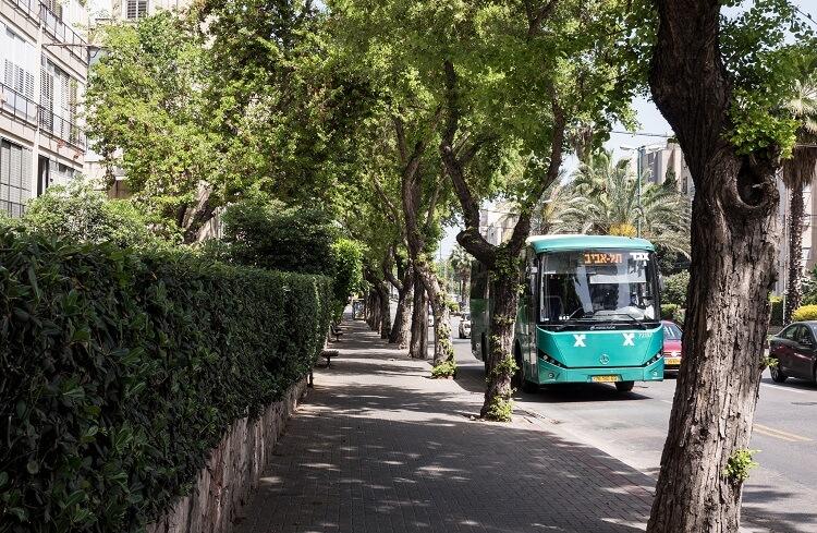 Автобус Тель Авив