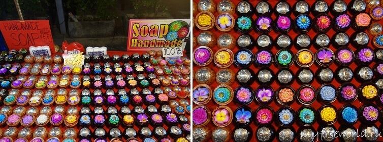 Резное мыло из Таиланда