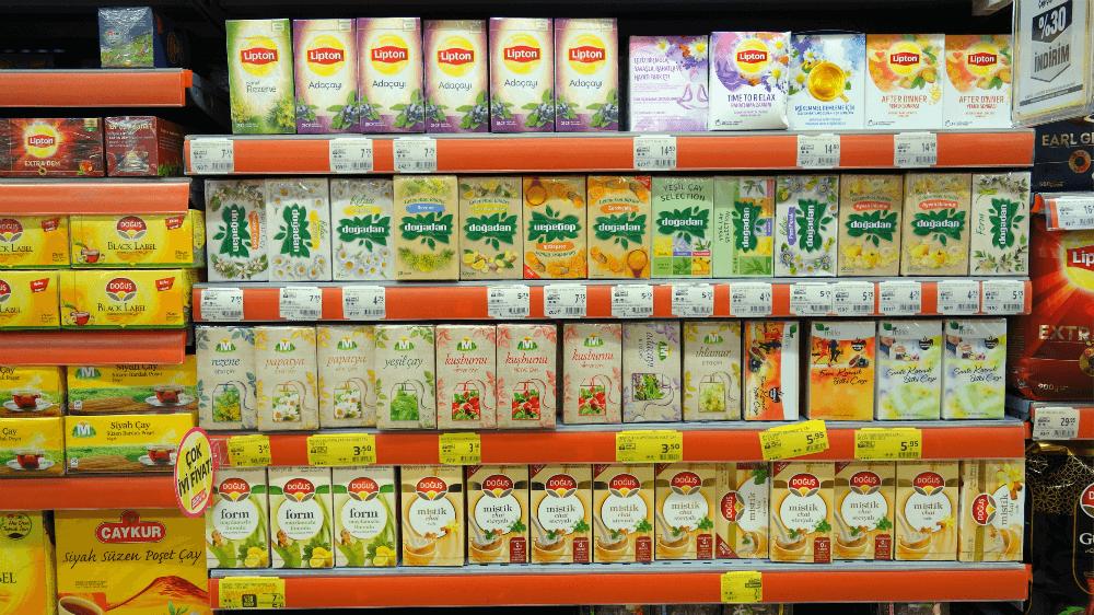 Турецкий чай в пакетиках