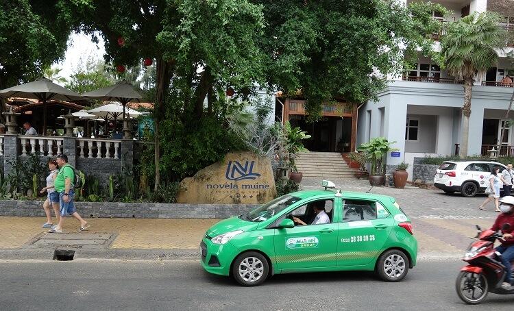 Такси до Муйне