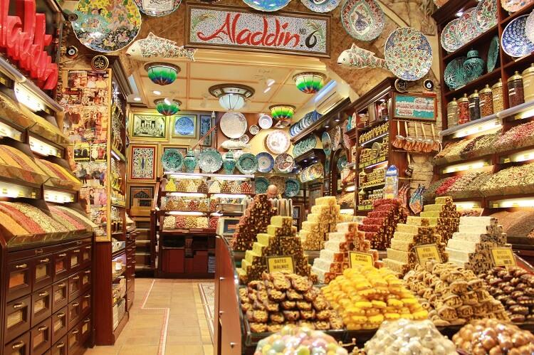 Сладкие сувениры из Турции