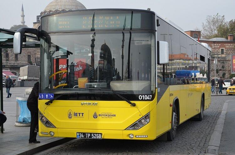 Автобус Стамбул