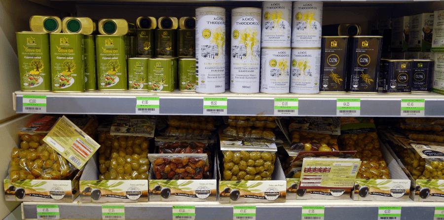 Оливковое масло на Кипре