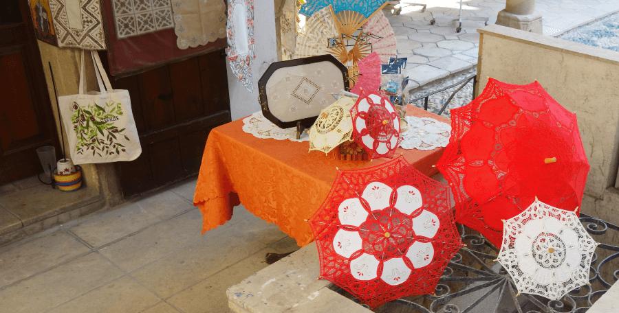 Традиционное кружево и вышивка на Кипре