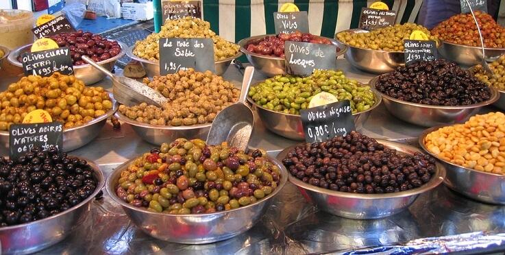 Оливки с Кипра