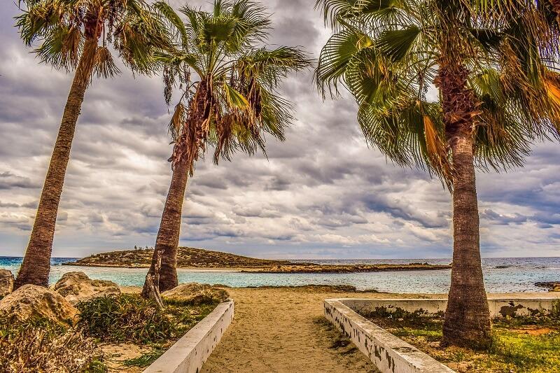 Айя-Напа. Пляж Нисси