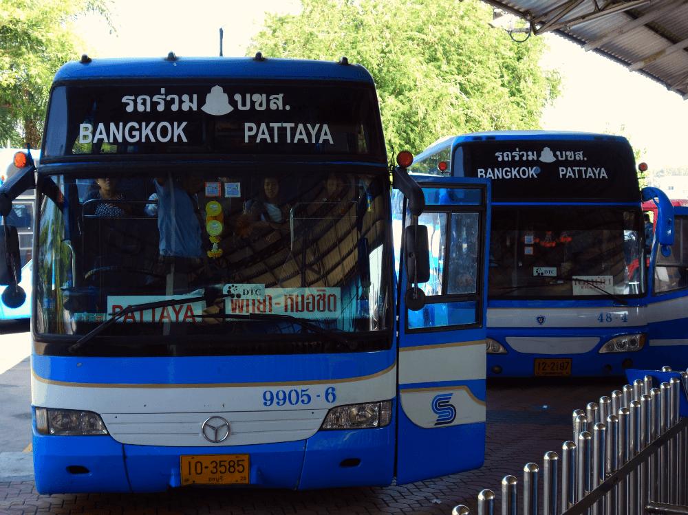 Автобус по маршруту Бангкок → Паттайя