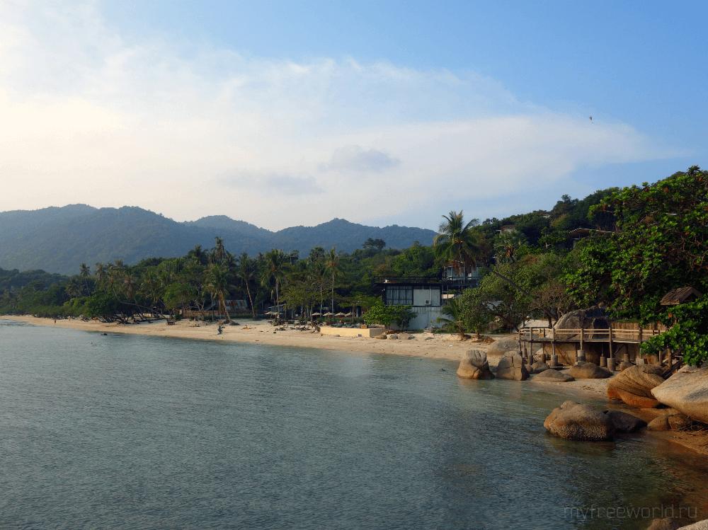 Отели на о. Панган, Таиланд