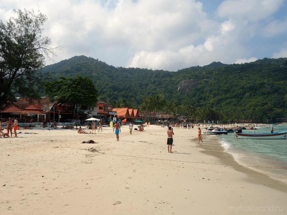 Пляж Хаадрин, Панган, Таиланд