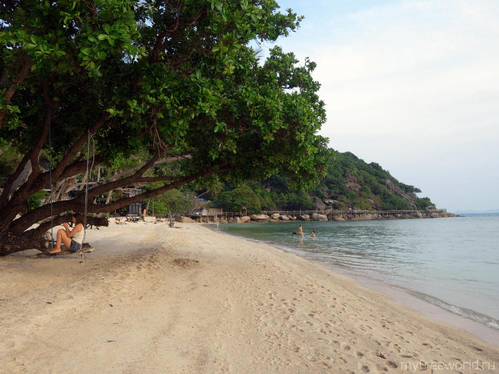 Пляж на о. Панган, Таиланд