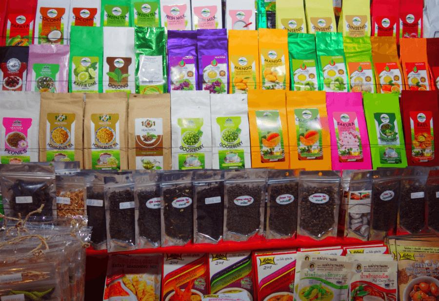 Тайский чай. Рынок о. Самуи