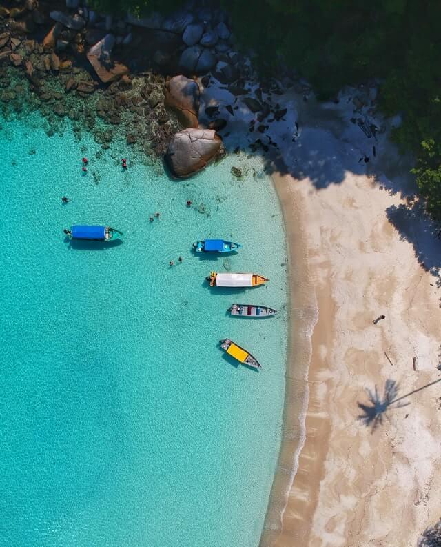 Перхентианские острова в Малайзии