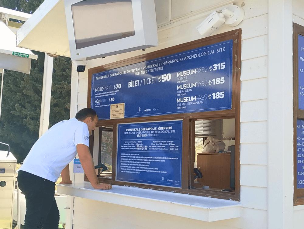 Стоимость входа в Памуккале (Иераполис)