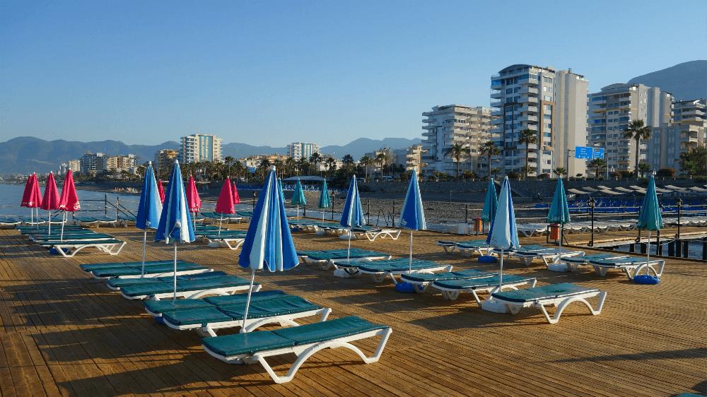 Пляж Аланья, Турция