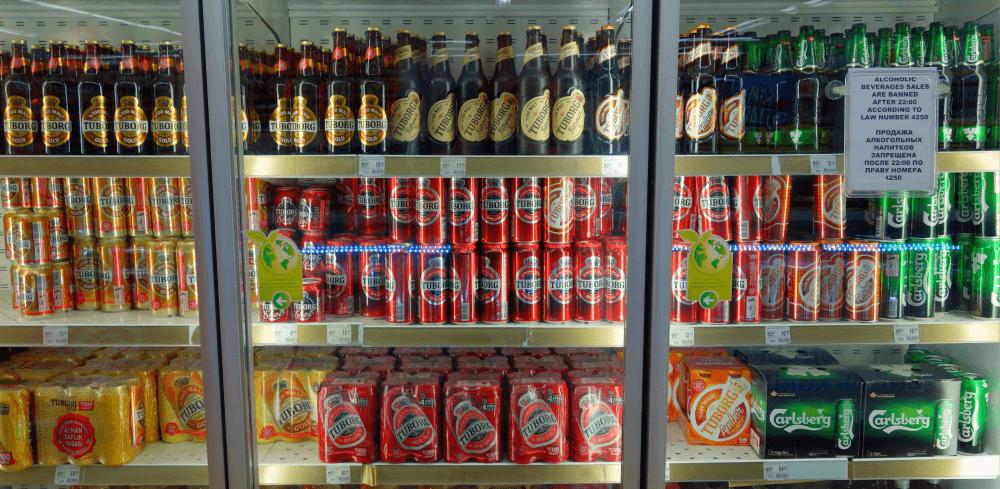 Стоимость алкоголя в Турции