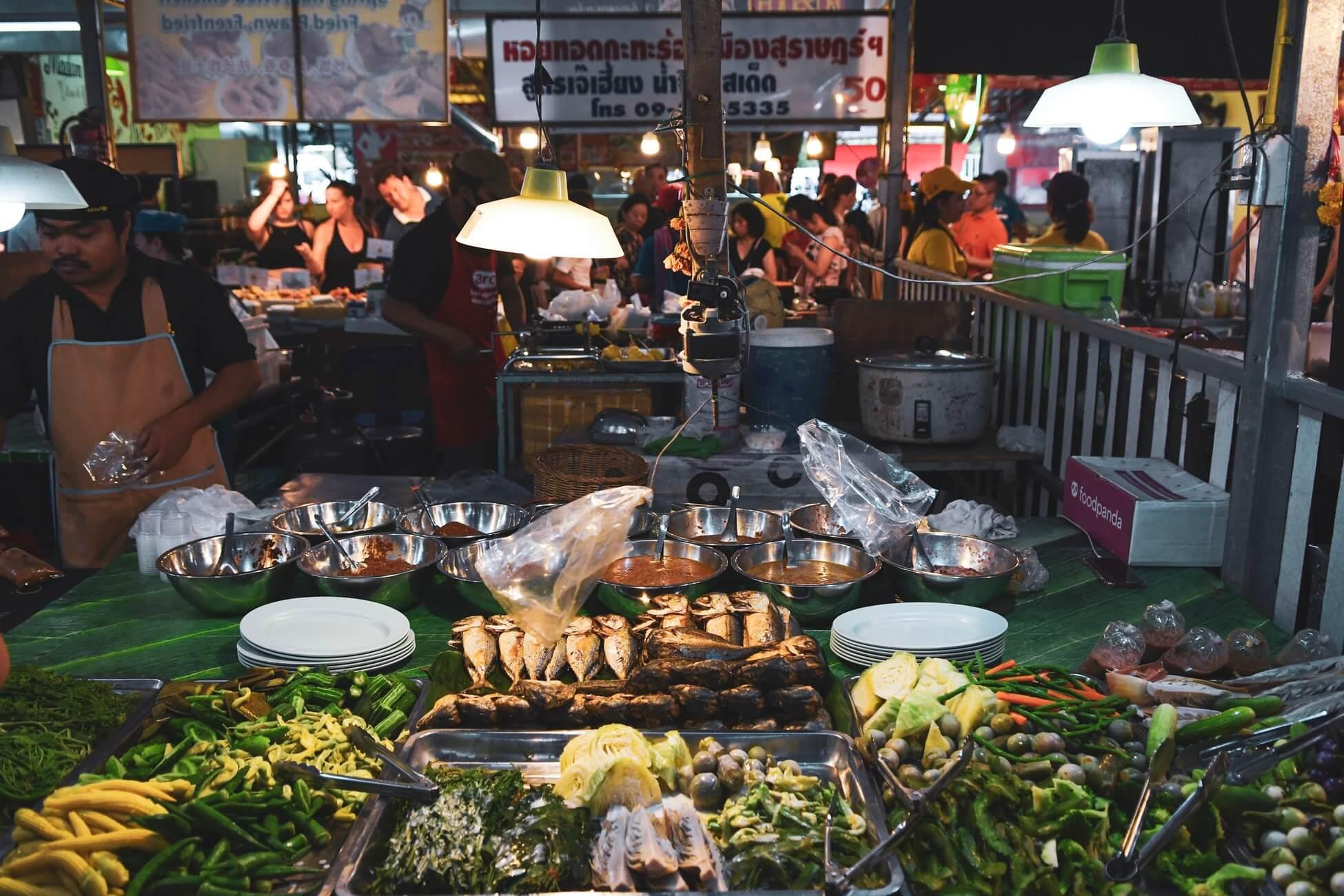 Еда на Пхукете, Таиланд