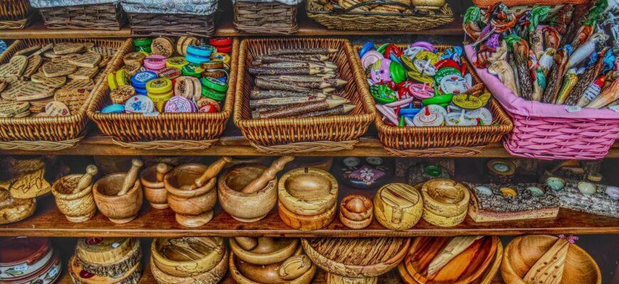 Сувениры в Крыму