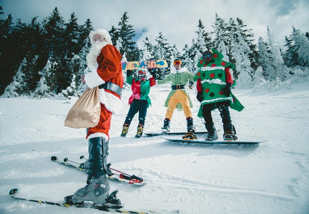 Новый год в лыжах