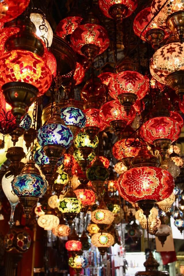 Турецкие лампы