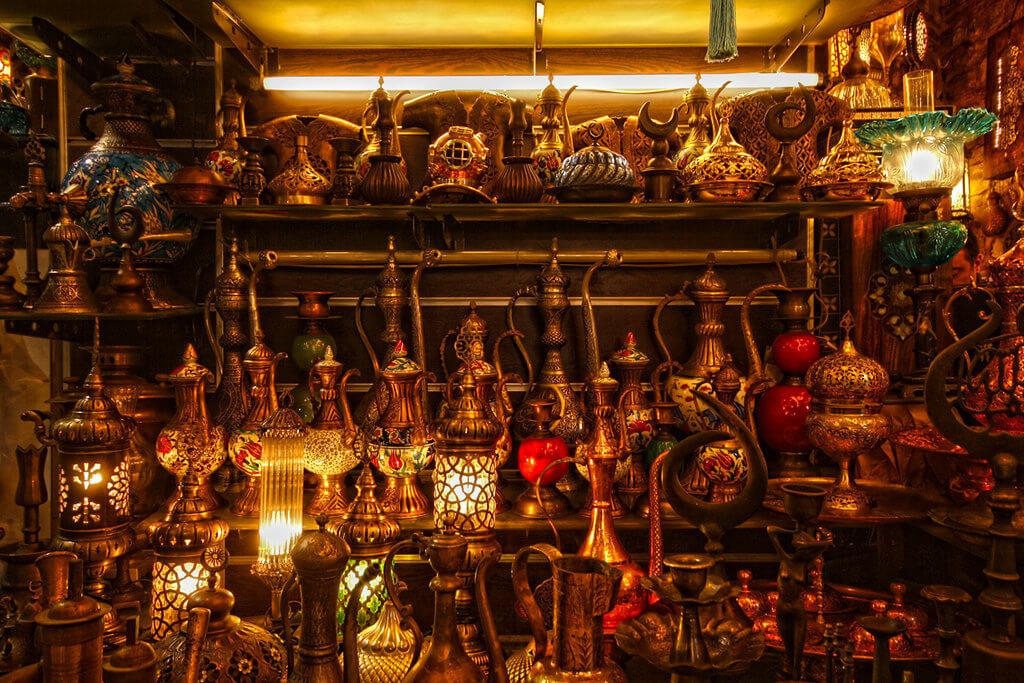 Магазин-на-Гранд-Базаре Стамбул